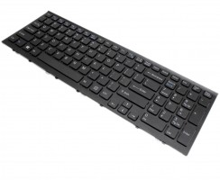 Tastatura Sony Vaio PCG 71913L neagra. Keyboard Sony Vaio PCG 71913L neagra. Tastaturi laptop Sony Vaio PCG 71913L neagra. Tastatura notebook Sony Vaio PCG 71913L neagra