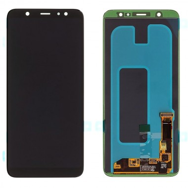 Ansamblu Display LCD + Touchscreen Samsung Galaxy A6+ 2018 A605 Black Negru . Ecran + Digitizer Samsung Galaxy A6+ 2018 A605 Negru Black