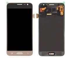Ansamblu Display LCD + Touchscreen Samsung Galaxy J3 2016 J320FN Gold Auriu . Ecran + Digitizer Samsung Galaxy J3 2016 J320FN Gold Auriu