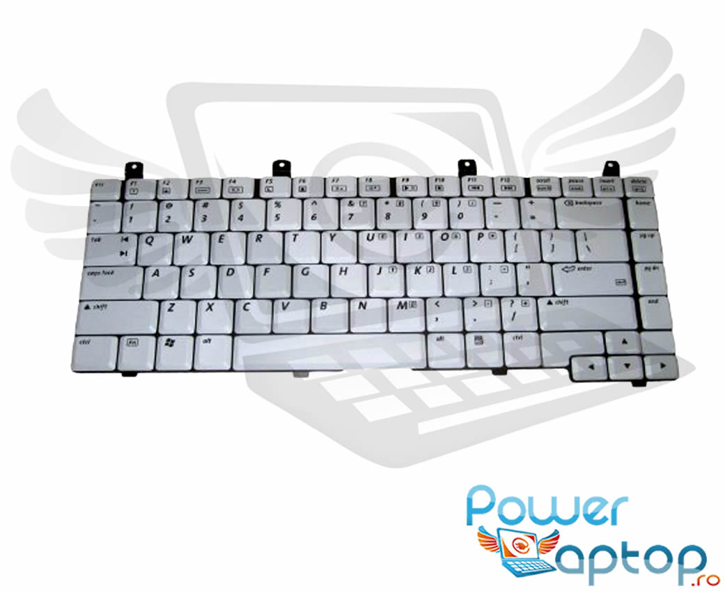 Tastatura Compaq Presario V5040 alba imagine powerlaptop.ro 2021