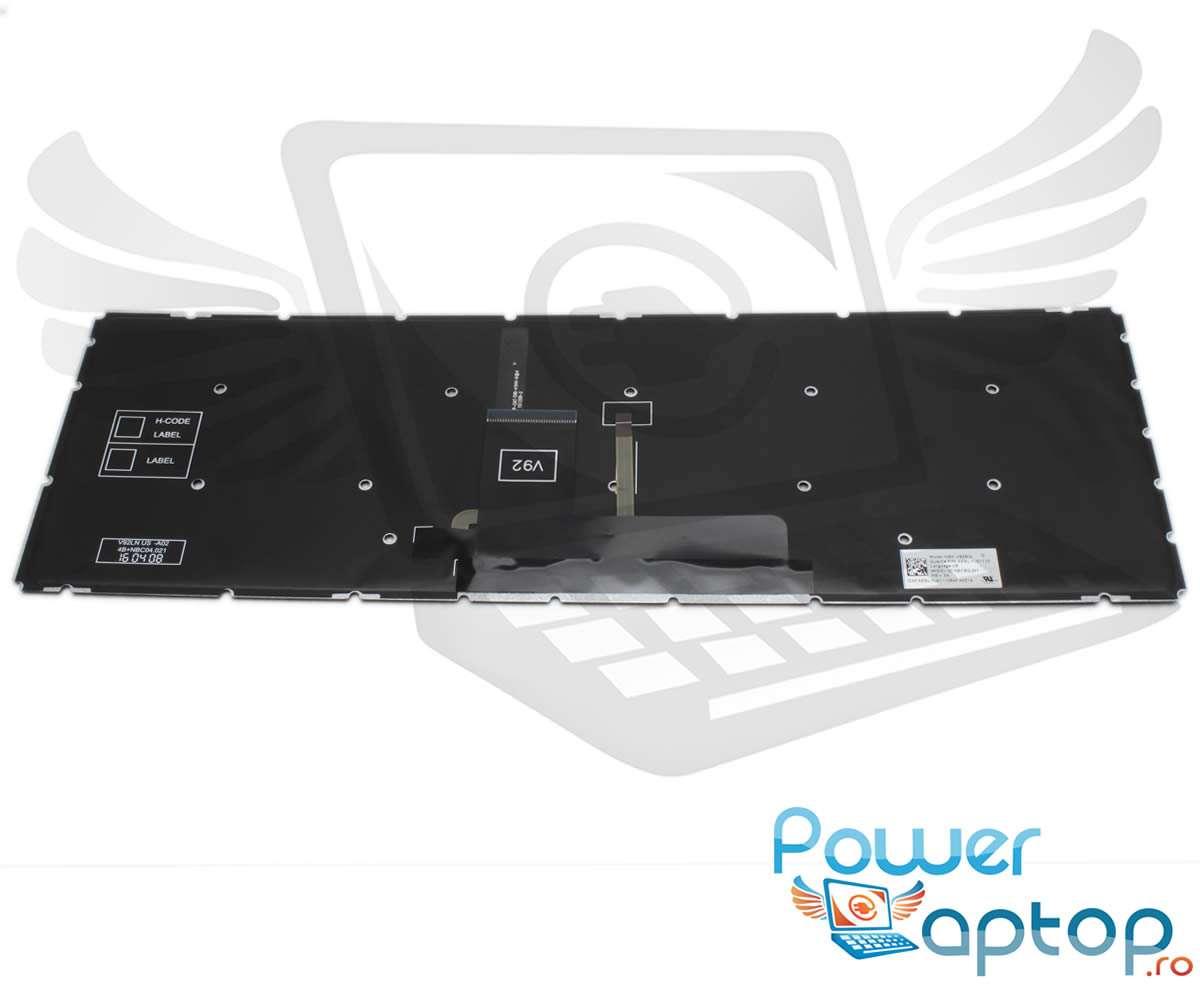 Tastatura Toshiba 9Z.NBCBQ.201 iluminata layout UK fara rama enter mare imagine powerlaptop.ro 2021