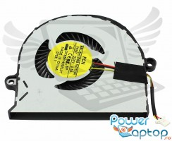 Cooler laptop Acer Aspire E5-574T. Ventilator procesor Acer Aspire E5-574T. Sistem racire laptop Acer Aspire E5-574T