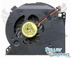 Cooler laptop Dell XPS 17 L702X. Ventilator procesor Dell XPS 17 L702X. Sistem racire laptop Dell XPS 17 L702X