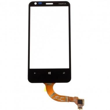 Touchscreen Digitizer Nokia Lumia 620. Geam Sticla Smartphone Telefon Mobil Nokia Lumia 620