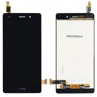 Ansamblu Display LCD + Touchscreen Huawei Ascend P8 Lite 2015 ALE-L04 Black Negru . Ecran + Digitizer Huawei Ascend P8 Lite 2015 ALE-L04 Black Negru