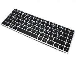 Tastatura HP  NSK-XJ0SW01 Neagra cu Rama Argintie. Keyboard HP  NSK-XJ0SW01 Neagra cu Rama Argintie. Tastaturi laptop HP  NSK-XJ0SW01 Neagra cu Rama Argintie. Tastatura notebook HP  NSK-XJ0SW01 Neagra cu Rama Argintie