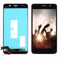 Ansamblu Display LCD + Touchscreen Huawei Y6 SCL-L21 Black Negru . Ecran + Digitizer Huawei Y6 SCL-L21 Black Negru