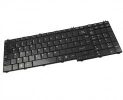 Tastatura Toshiba Qosmio X300 neagra. Keyboard Toshiba Qosmio X300 neagra. Tastaturi laptop Toshiba Qosmio X300 neagra. Tastatura notebook Toshiba Qosmio X300 neagra