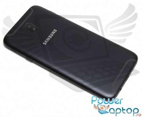 Capac Baterie Samsung Galaxy J7 2017 J730 Negru Black. Capac Spate Samsung Galaxy J7 2017 J730 Negru Black