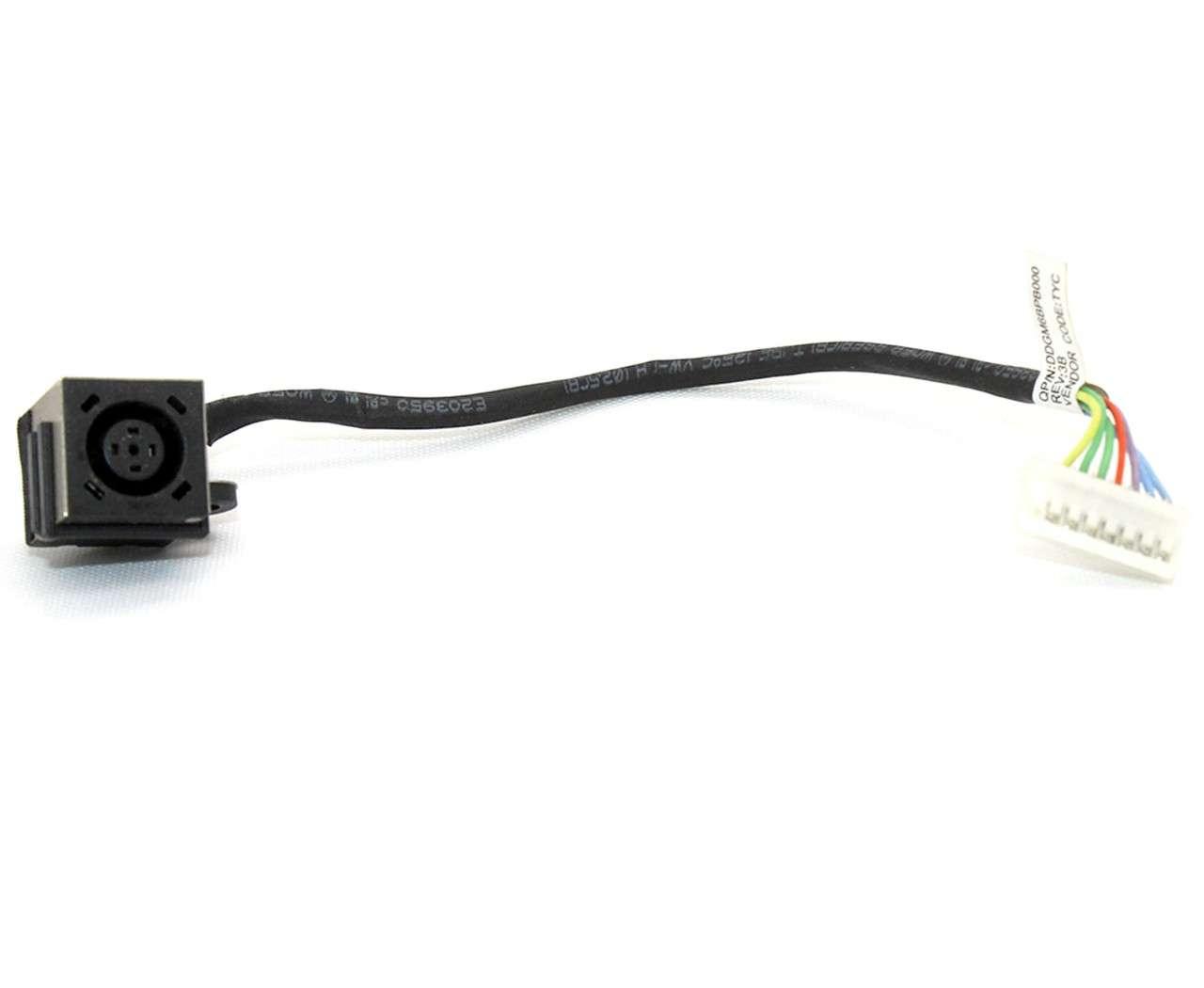 Mufa alimentare laptop Dell XPS 15 L501X cu fir imagine powerlaptop.ro 2021