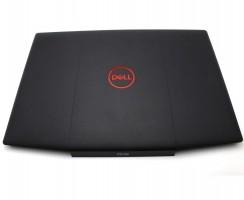 Carcasa Display Dell 03HKFN. Cover Display Dell 03HKFN. Capac Display Dell 03HKFN Neagra cu Logo Rosu