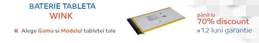 baterie tableta wink