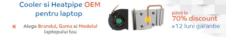 cooler si heatpipe pentru laptop
