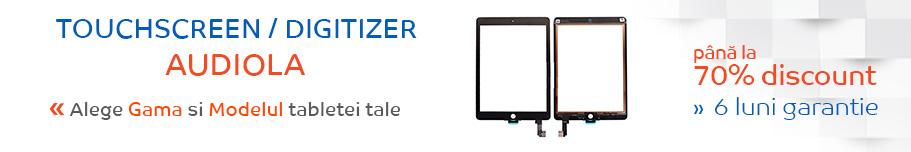 touchscreen tableta audiola