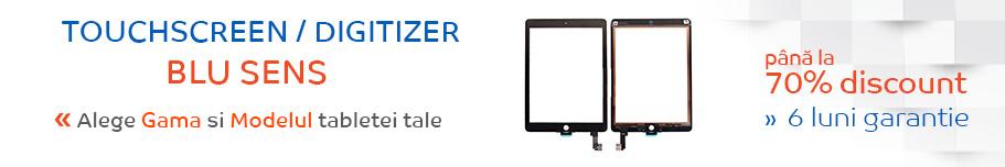 touchscreen tableta blu sens
