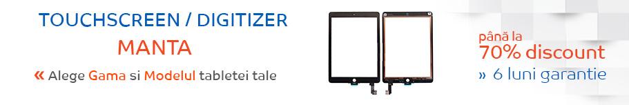 touchscreen tableta manta