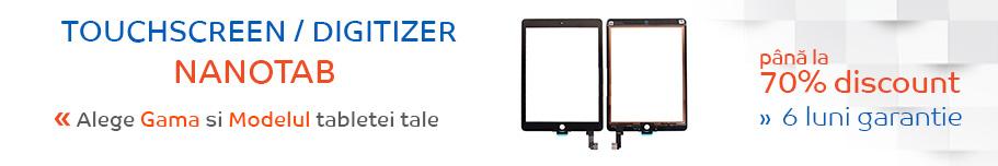 touchscreen tableta nanotab