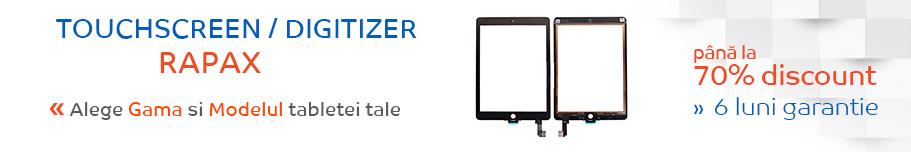 touchscreen tableta rapax