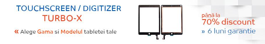 touchscreen tableta turbo-x