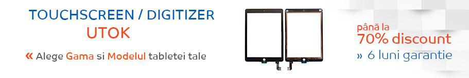 touchscreen tableta utok
