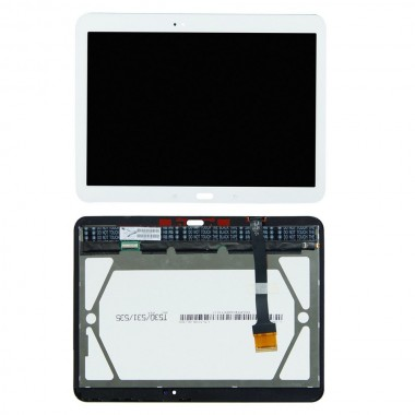 Ansamblu Display LCD  + Touchscreen Samsung Galaxy Tab 4 10.1 WiFi T535 Alb. Modul Ecran + Digitizer Samsung Galaxy Tab 4 10.1 WiFi T535 Alb