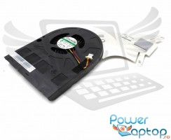 Cooler laptop Acer Aspire E1 510P. Ventilator procesor Acer Aspire E1 510P. Sistem racire laptop Acer Aspire E1 510P
