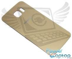 Capac Baterie Samsung Galaxy S6 G920 Gold. Capac Spate Samsung Galaxy S6 G920 Gold