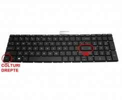 Tastatura HP  15-BW000 iluminata. Keyboard HP  15-BW000. Tastaturi laptop HP  15-BW000. Tastatura notebook HP  15-BW000