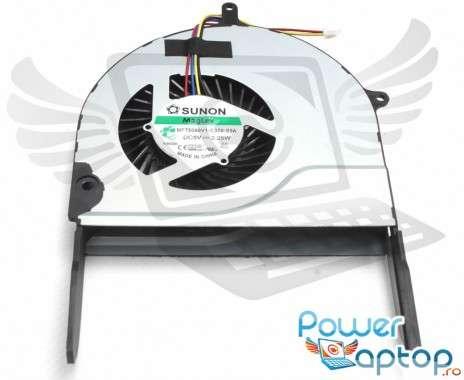 Cooler laptop Asus ROG N751J. Ventilator procesor Asus ROG N751J. Sistem racire laptop Asus ROG N751J