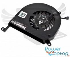 Cooler laptop Apple MacBook Pro A1286 2011. Ventilator procesor Apple MacBook Pro A1286 2011. Sistem racire laptop Apple MacBook Pro A1286 2011