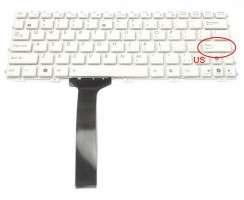 Tastatura Asus Eee PC 1015B alba. Keyboard Asus Eee PC 1015B. Tastaturi laptop Asus Eee PC 1015B. Tastatura notebook Asus Eee PC 1015B