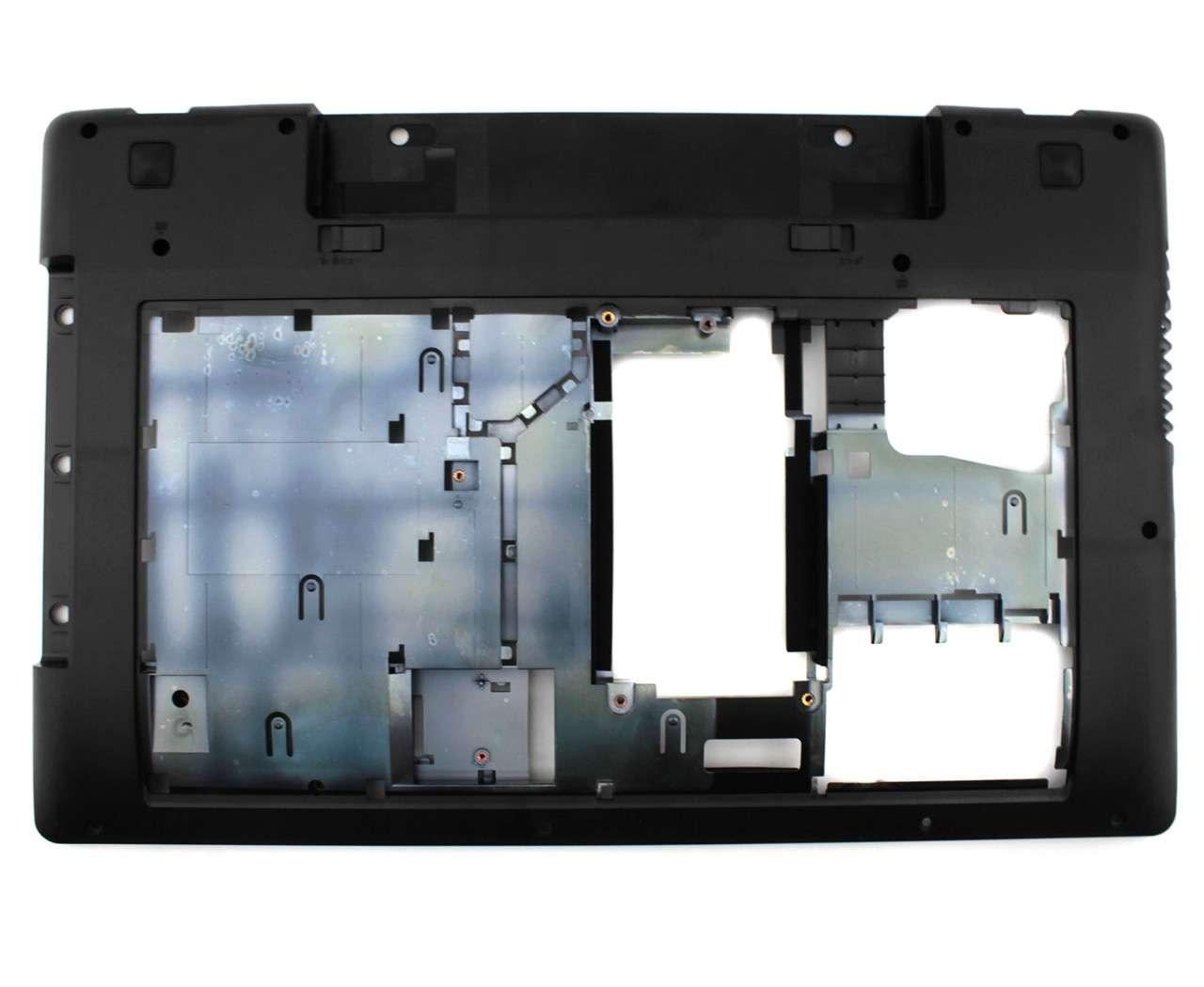 Bottom Case Lenovo IdeaPad Z580 Carcasa Inferioara Neagra imagine