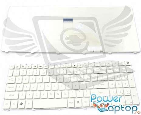 Tastatura Packard Bell  LM81 alba. Keyboard Packard Bell  LM81 alba. Tastaturi laptop Packard Bell  LM81 alba. Tastatura notebook Packard Bell  LM81 alba