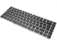 Tastatura Asus EEE PC 1225 neagra cu Rama gri. Keyboard Asus EEE PC 1225 neagra cu Rama gri. Tastaturi laptop Asus EEE PC 1225 neagra cu Rama gri. Tastatura notebook Asus EEE PC 1225 neagra cu Rama gri
