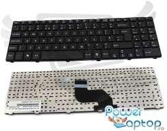 Tastatura MSI  A6400 cu rama. Keyboard MSI  A6400 cu rama. Tastaturi laptop MSI  A6400 cu rama. Tastatura notebook MSI  A6400 cu rama