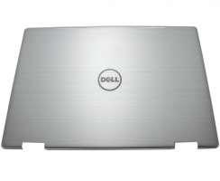 Carcasa Display Dell GCPWV pentru laptop cu touchscreen. Cover Display Dell GCPWV. Capac Display Dell GCPWV Argintie