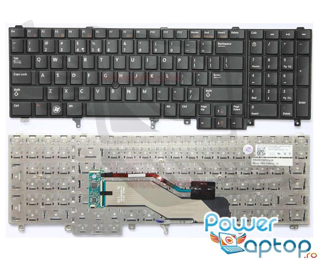 Tastatura Dell Latitude P15F002 imagine