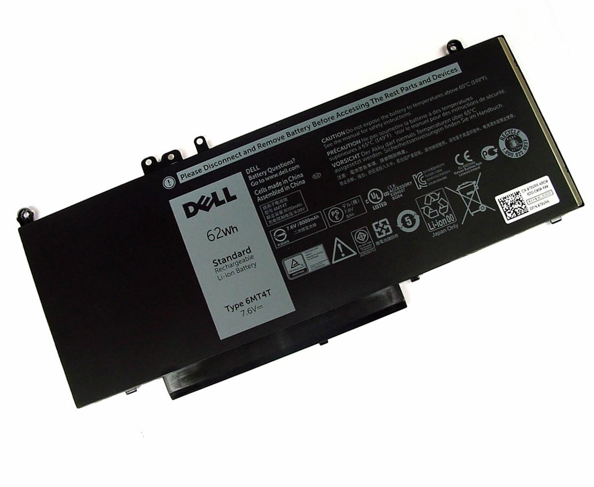 Baterie Dell 7FR5J Originala 62Wh imagine powerlaptop.ro 2021