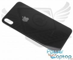 Capac Baterie iPhone XS Max Negru Black Space Gray. Capac Spate iPhone XS Max Negru Black Space Gray
