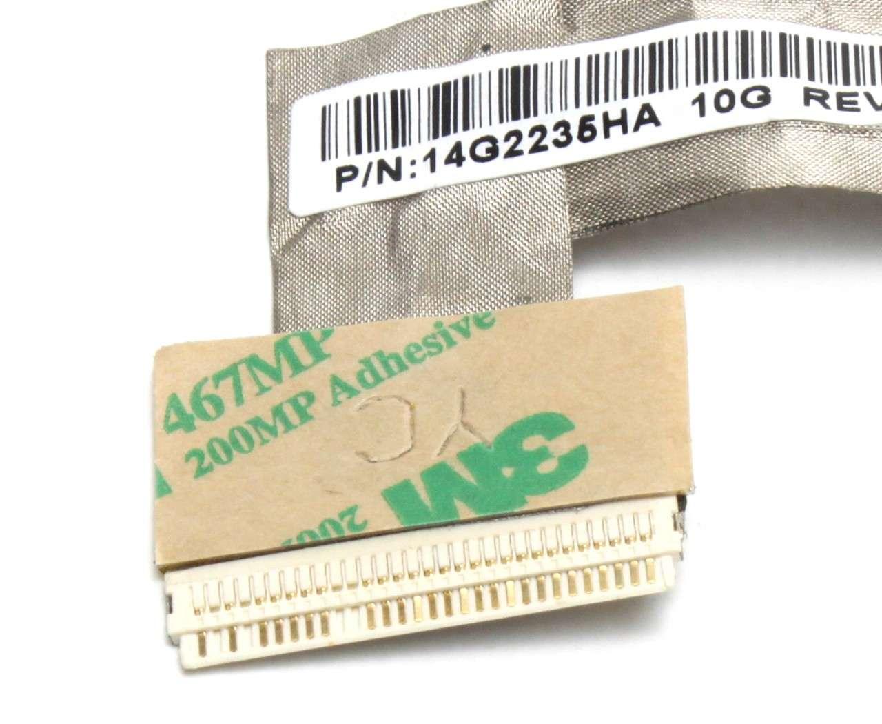Cablu video LVDS Asus 14G2235HA CCFL imagine powerlaptop.ro 2021