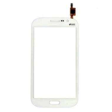 Touchscreen Digitizer Samsung Galaxy Grand Duos i9128 White Alb. Geam Sticla Smartphone Telefon Mobil Samsung Galaxy Grand Duos i9128 White Alb