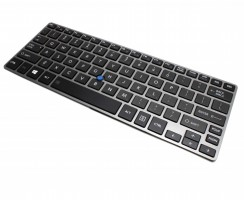 Tastatura Toshiba Portege Z30T iluminata backlit. Keyboard Toshiba Portege Z30T iluminata backlit. Tastaturi laptop Toshiba Portege Z30T iluminata backlit. Tastatura notebook Toshiba Portege Z30T iluminata backlit