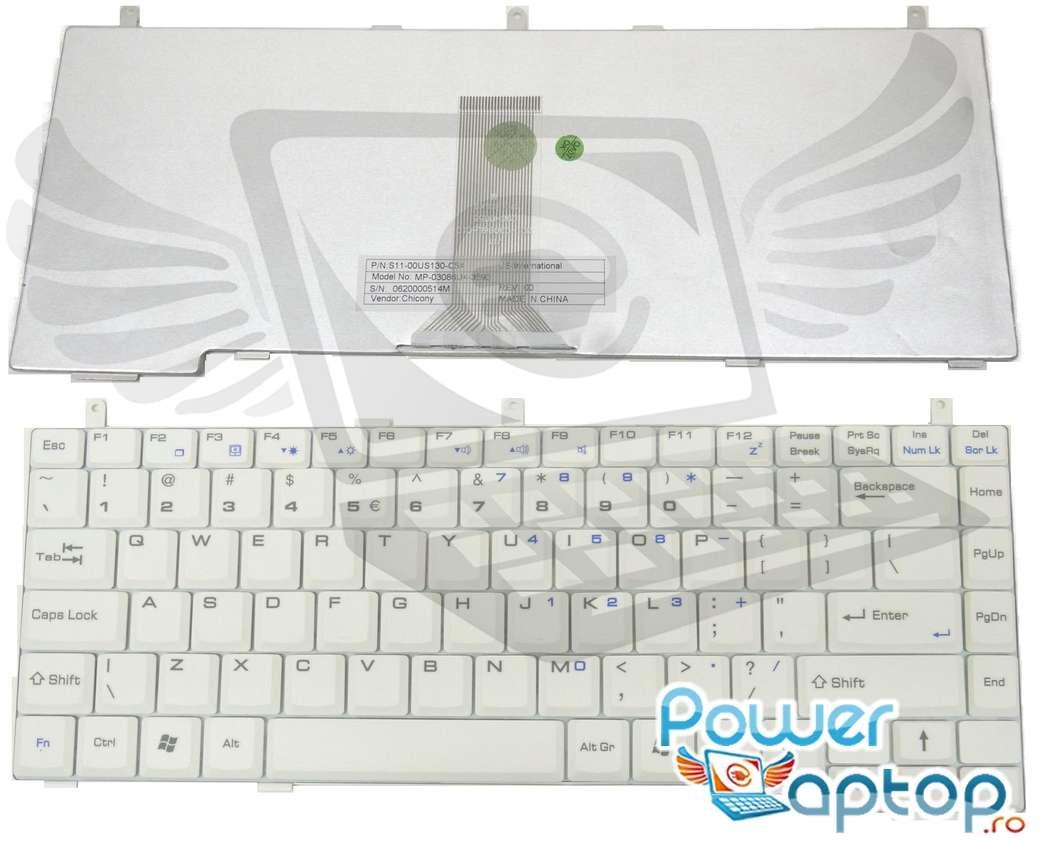 Tastatura MSI S425 alba imagine powerlaptop.ro 2021
