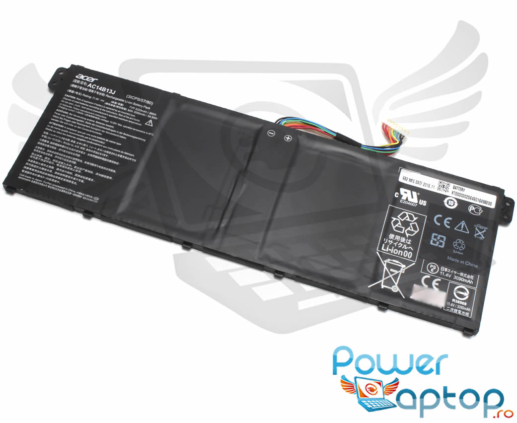 Baterie Packard Bell EasyNote TG81BA Originala 36Wh imagine powerlaptop.ro 2021