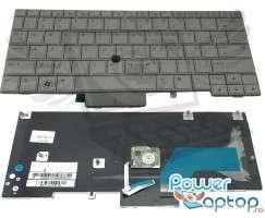 Tastatura HP EliteBook 2740P argintie. Keyboard HP EliteBook 2740P argintie. Tastaturi laptop HP EliteBook 2740P argintie. Tastatura notebook HP EliteBook 2740P argintie