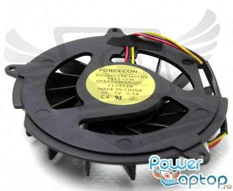 Cooler laptop HP Compaq Presario V5100. Ventilator procesor HP Compaq Presario V5100. Sistem racire laptop HP Compaq Presario V5100