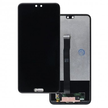 Ansamblu Display LCD + Touchscreen Huawei P20 EML-L09C Black Negru . Ecran + Digitizer Huawei P20 EML-L09C Black Negru