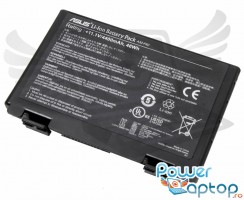 Baterie Asus  K50IN Originala. Acumulator Asus  K50IN. Baterie laptop Asus  K50IN. Acumulator laptop Asus  K50IN. Baterie notebook Asus  K50IN