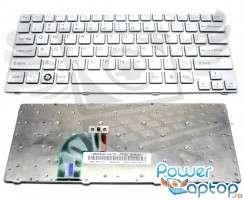 Tastatura Sony Vaio SVE14A18ECH argintie. Keyboard Sony Vaio SVE14A18ECH argintie. Tastaturi laptop Sony Vaio SVE14A18ECH argintie. Tastatura notebook Sony Vaio SVE14A18ECH argintie