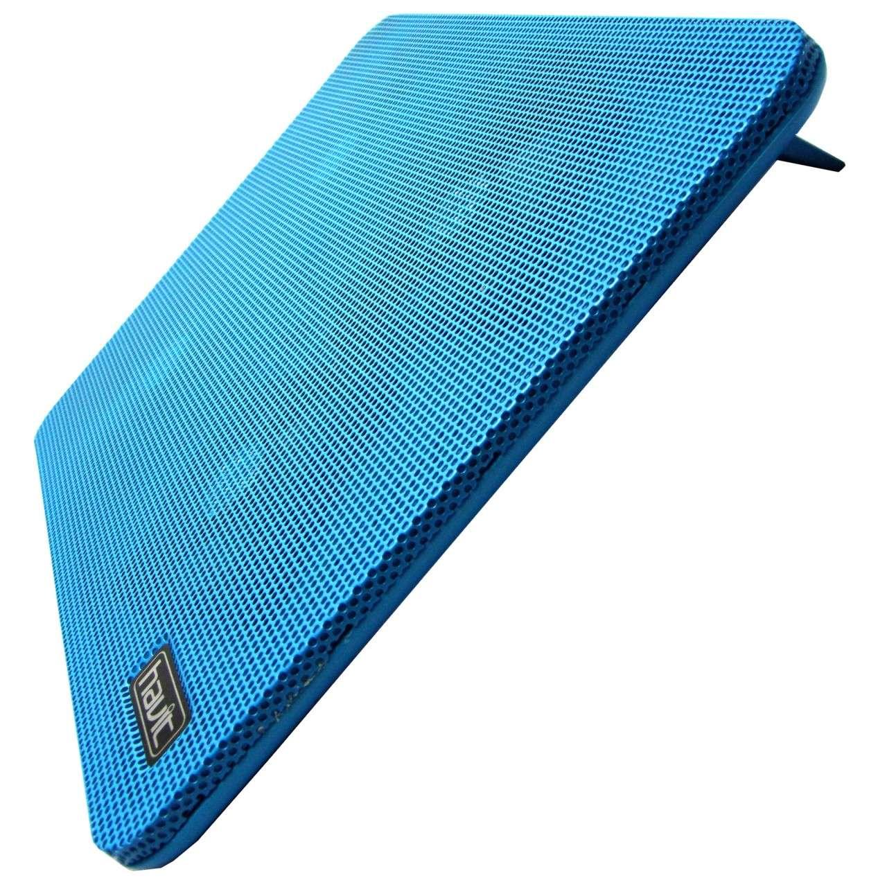 Cooler Stand Laptop Notebook Havit 4 Ventilatoare cu 2 Slot USB si LED imagine powerlaptop.ro 2021